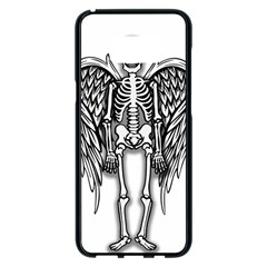 Angel Skeleton Samsung Galaxy S8 Plus Black Seamless Case