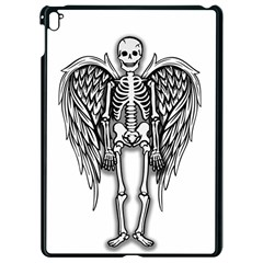 Angel Skeleton Apple Ipad Pro 9 7   Black Seamless Case by Valentinaart