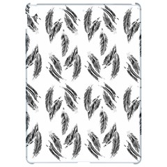 Feather Pattern Apple Ipad Pro 12 9   Hardshell Case by Valentinaart