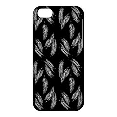 Feather Pattern Apple Iphone 5c Hardshell Case by Valentinaart