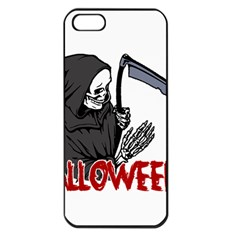 Death   Halloween Apple Iphone 5 Seamless Case (black)