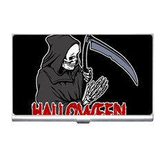 Death   Halloween Business Card Holders