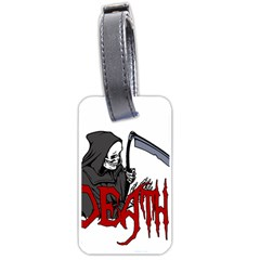 Death   Halloween Luggage Tags (one Side)