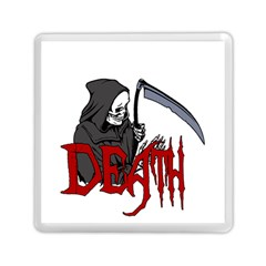 Death   Halloween Memory Card Reader (square)
