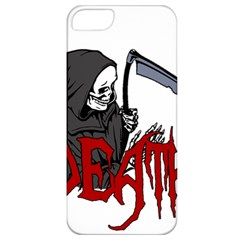 Death   Halloween Apple Iphone 5 Classic Hardshell Case by Valentinaart