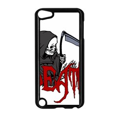 Death   Halloween Apple Ipod Touch 5 Case (black) by Valentinaart
