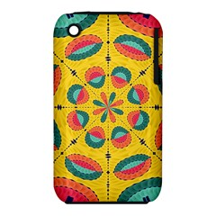 Textured Tropical Mandala Iphone 3s/3gs by linceazul