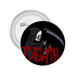 Death   Halloween 2 25  Buttons by Valentinaart