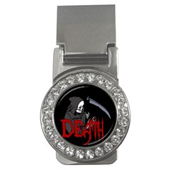 Death   Halloween Money Clips (cz)  by Valentinaart