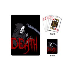 Death   Halloween Playing Cards (mini)