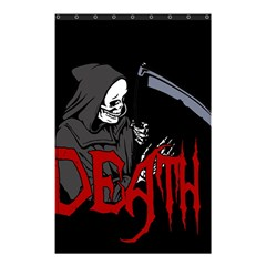 Death   Halloween Shower Curtain 48  X 72  (small)