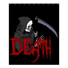 Death   Halloween Shower Curtain 60  X 72  (medium)