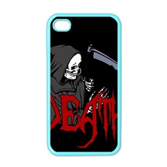 Death   Halloween Apple Iphone 4 Case (color) by Valentinaart