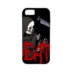 Death   Halloween Apple Iphone 5 Classic Hardshell Case (pc+silicone)