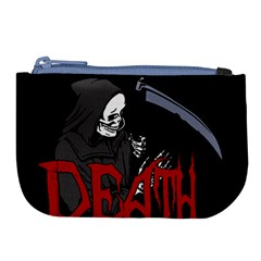 Death   Halloween Large Coin Purse