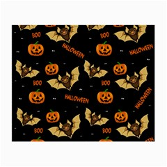 Bat, Pumpkin And Spider Pattern Small Glasses Cloth