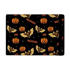 Bat, Pumpkin And Spider Pattern Apple Ipad Mini Flip Case by Valentinaart