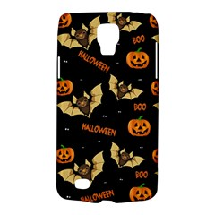 Bat, Pumpkin And Spider Pattern Galaxy S4 Active by Valentinaart
