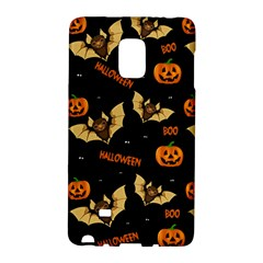Bat, Pumpkin And Spider Pattern Galaxy Note Edge by Valentinaart