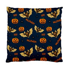 Bat, Pumpkin And Spider Pattern Standard Cushion Case (two Sides)