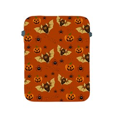 Bat, Pumpkin And Spider Pattern Apple Ipad 2/3/4 Protective Soft Cases by Valentinaart