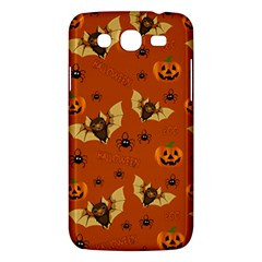 Bat, Pumpkin And Spider Pattern Samsung Galaxy Mega 5 8 I9152 Hardshell Case  by Valentinaart