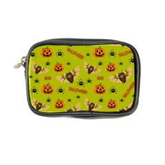 Bat, Pumpkin And Spider Pattern Coin Purse