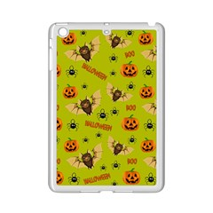 Bat, Pumpkin And Spider Pattern Ipad Mini 2 Enamel Coated Cases by Valentinaart