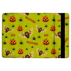 Bat, Pumpkin And Spider Pattern Ipad Air Flip by Valentinaart