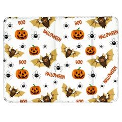 Bat, Pumpkin And Spider Pattern Samsung Galaxy Tab 7  P1000 Flip Case by Valentinaart