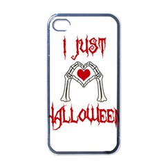I Just Love Halloween Apple Iphone 4 Case (black)