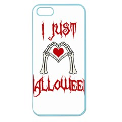 I Just Love Halloween Apple Seamless Iphone 5 Case (color) by Valentinaart