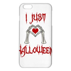 I Just Love Halloween Iphone 6 Plus/6s Plus Tpu Case by Valentinaart