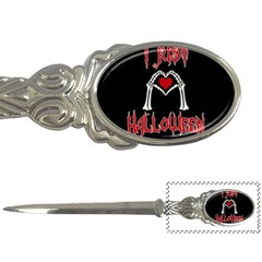 I Just Love Halloween Letter Openers by Valentinaart