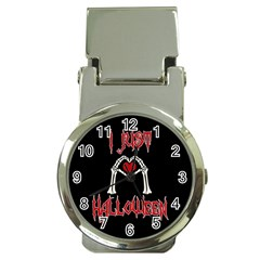 I Just Love Halloween Money Clip Watches by Valentinaart