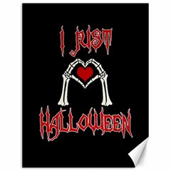 I Just Love Halloween Canvas 12  X 16   by Valentinaart