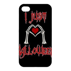 I Just Love Halloween Apple Iphone 4/4s Hardshell Case
