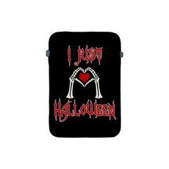 I Just Love Halloween Apple Ipad Mini Protective Soft Cases by Valentinaart
