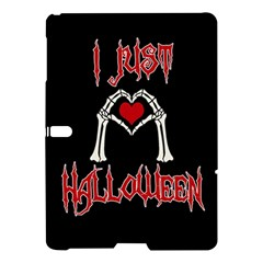 I Just Love Halloween Samsung Galaxy Tab S (10 5 ) Hardshell Case  by Valentinaart