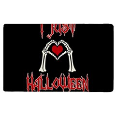 I Just Love Halloween Apple Ipad Pro 9 7   Flip Case by Valentinaart
