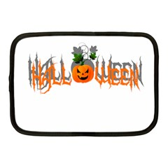 Halloween Netbook Case (medium)  by Valentinaart