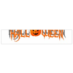Halloween Flano Scarf (small) by Valentinaart