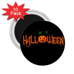Halloween 2 25  Magnets (10 Pack)  by Valentinaart