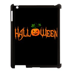 Halloween Apple Ipad 3/4 Case (black) by Valentinaart