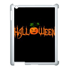 Halloween Apple Ipad 3/4 Case (white) by Valentinaart