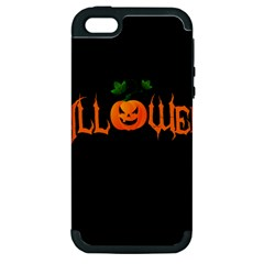 Halloween Apple Iphone 5 Hardshell Case (pc+silicone)