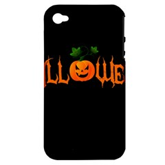 Halloween Apple Iphone 4/4s Hardshell Case (pc+silicone)