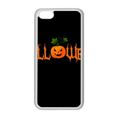 Halloween Apple Iphone 5c Seamless Case (white) by Valentinaart