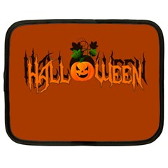 Halloween Netbook Case (xl)  by Valentinaart