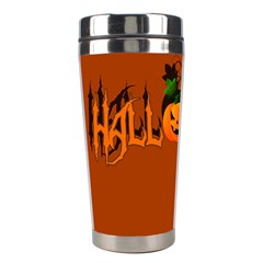 Halloween Stainless Steel Travel Tumblers by Valentinaart